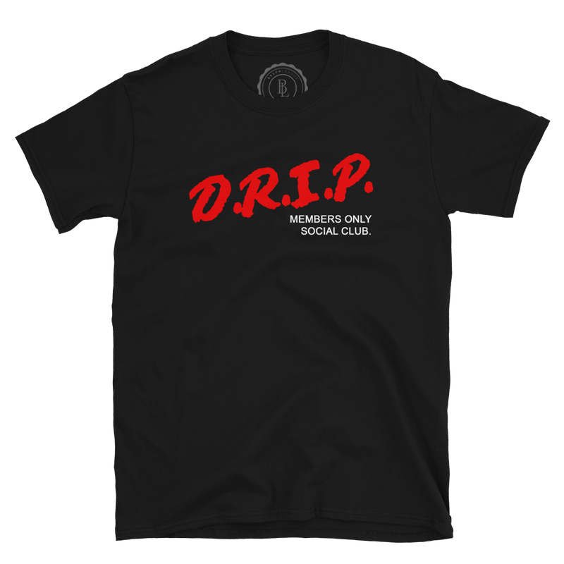DRIP Social Club Tee - BKLYN LEAGUE