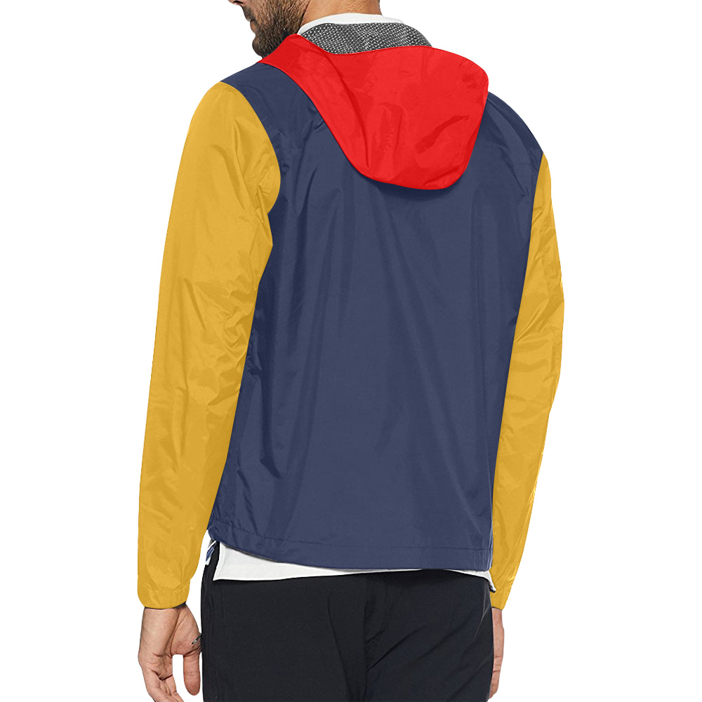 Defiance Color Block Windbreaker