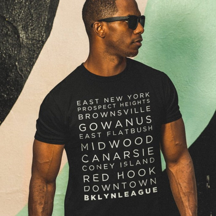Neighborhood Tee #2 - BKLYN LEAGUE