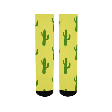 Crew Socks - White and Gold
