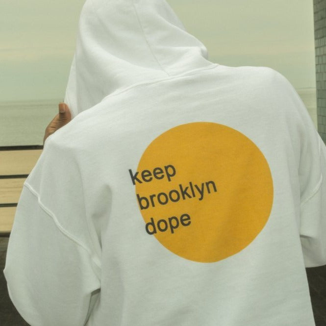 Keep Brooklyn Dope Hoodie - BKLYN LEAGUE