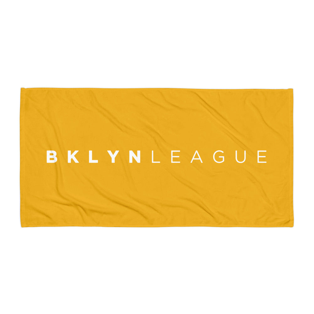 BKLYN LEAGUE Beach Towel - Gold
