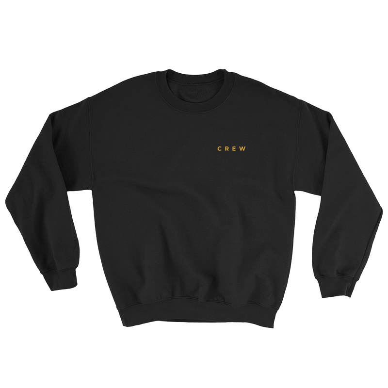 Crew Sweatshirt - Black - BKLYN LEAGUE