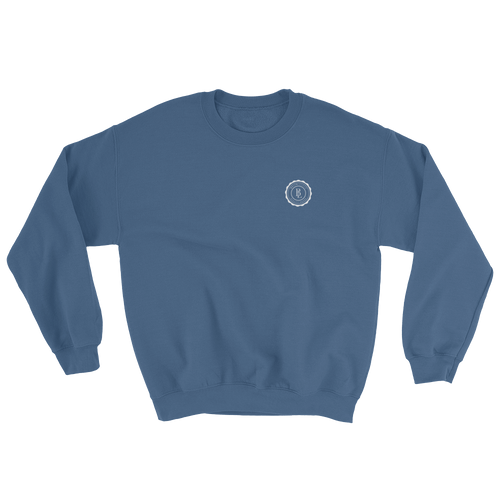 Collegiate Sweatshirt - Blue - BKLYN LEAGUE