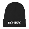 Defiance Beanie - Black & White - BKLYN LEAGUE