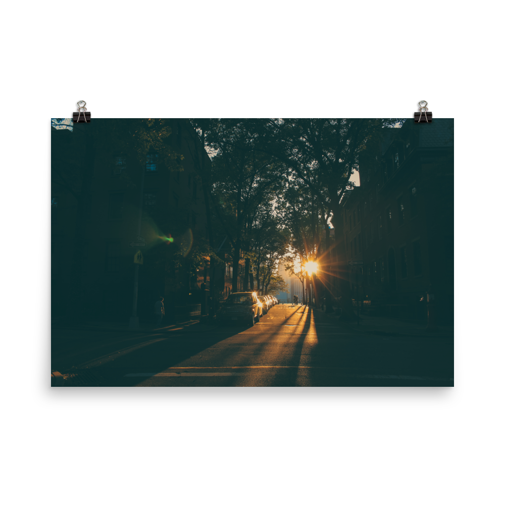 Brooklyn Heights Sunset Poster