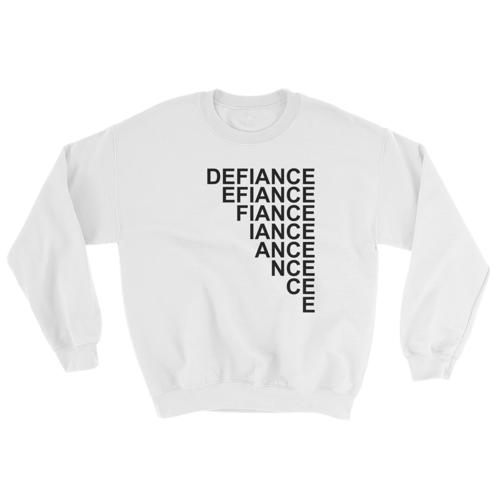 Defiance Stairs Sweatshirt - White