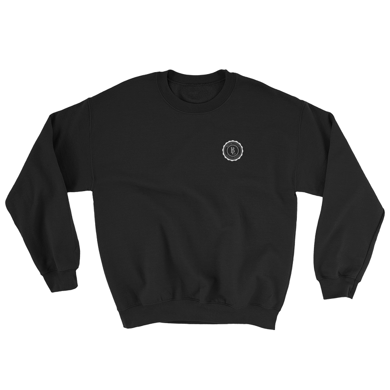Collegiate Sweatshirt - Black - BKLYN LEAGUE