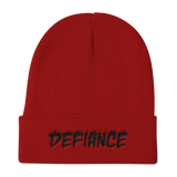 Defiance Beanie - Red & Black