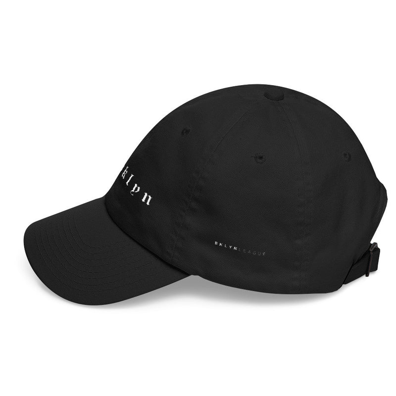Brooklyn Dad Cap - Black - BKLYN LEAGUE