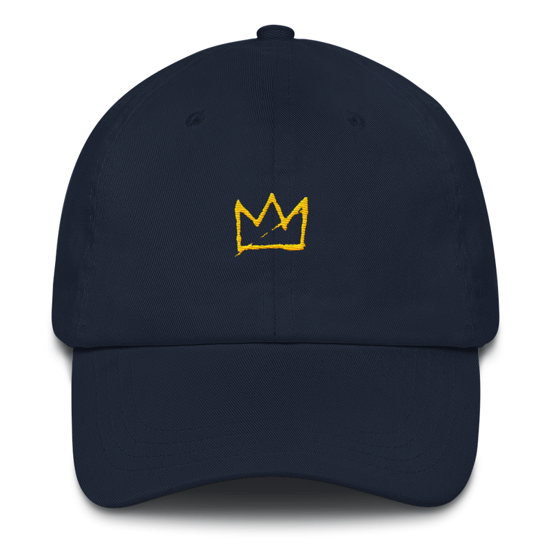 BK King Embroidered Dad Hat - BKLYN LEAGUE