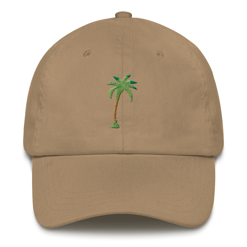 Palm Star Embroidered Dad Hat - BKLYN LEAGUE