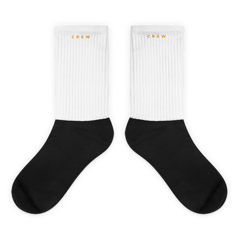 Crew Socks - White
