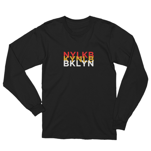 Tri-BKLYN Longsleeve Tee - BKLYN LEAGUE