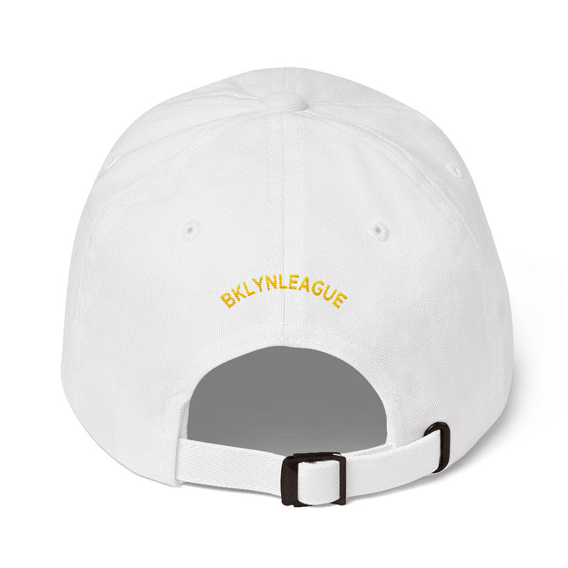 Vibes Embroidered Dad Hat - BKLYN LEAGUE
