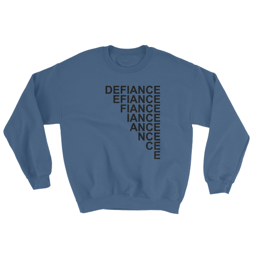 Defiance Stairs Sweatshirt - Blue - BKLYN LEAGUE