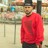 Defiance Stairs Sweatshirt - Red