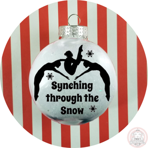 Synchro Christmas Ornament ~ Synchronized Swimming