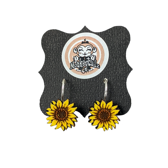 Sunflowers Dangle Earrings