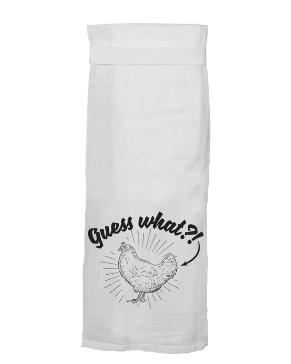 Guess What?! Chicken Butt® HANG TIGHT TOWEL