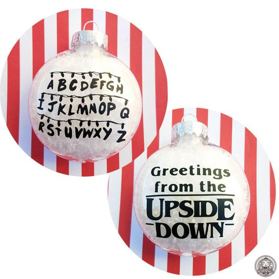 Upside Down Christmas Ornament
