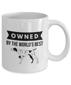 OWNED by German Shorthaired Pointer Coffee Mug for Dog Lovers