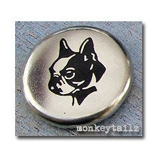 "Boston Terrier 1"" Pinback Button"