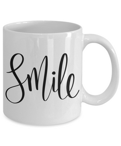 SMILE Coffee or Tea Mug Make My Day