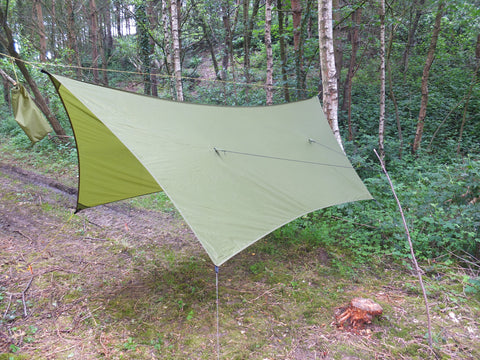 Cat-Hex SilNylon Tarp