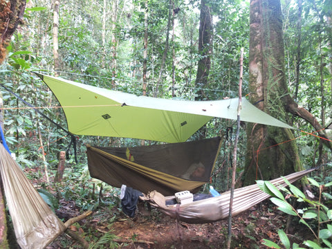 Woodsman Expedition Hammock !!New Lighter Version!!