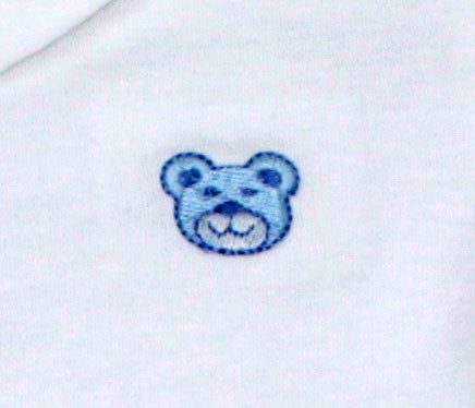 Blue Bear Pima Polo Bodysuit