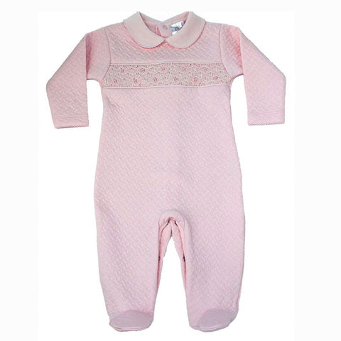 Hand Smocked Jumpsuit