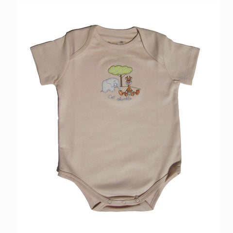 Organic Bodysuit - Natural