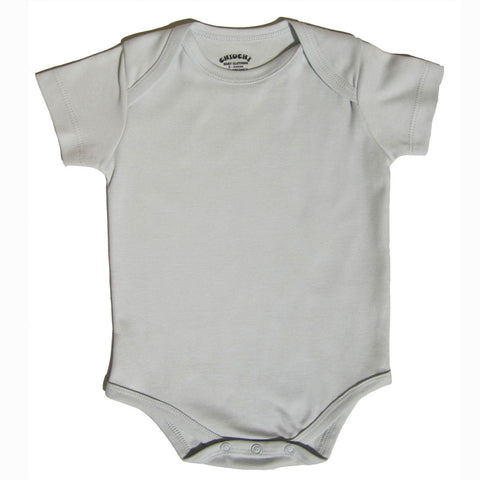 Organic Bodysuit - Gray Essential