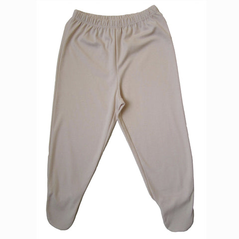 Organic Footie Pants - Natural