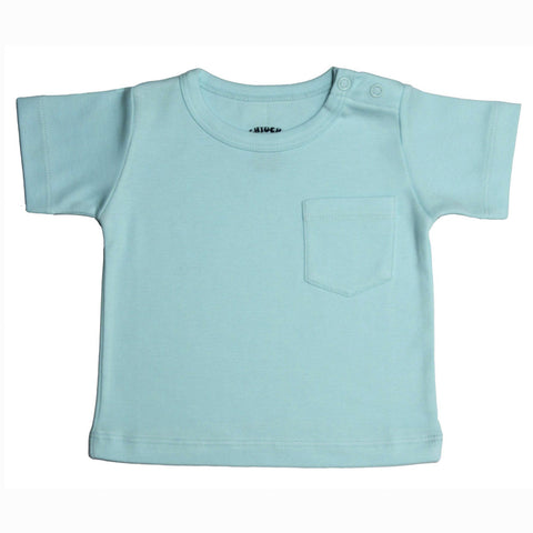 Organic T-Shirt Aqua Essentials