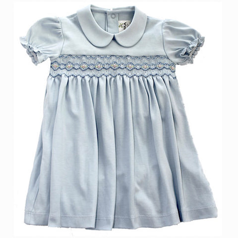 Bluebell Hand Smocked Dress Set
