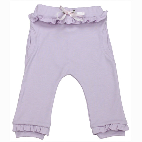 Organic Bubble Pants - Purple