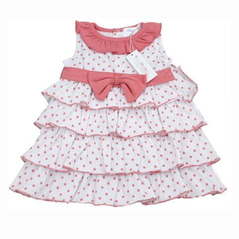 Polka Dots Pima Dress Set