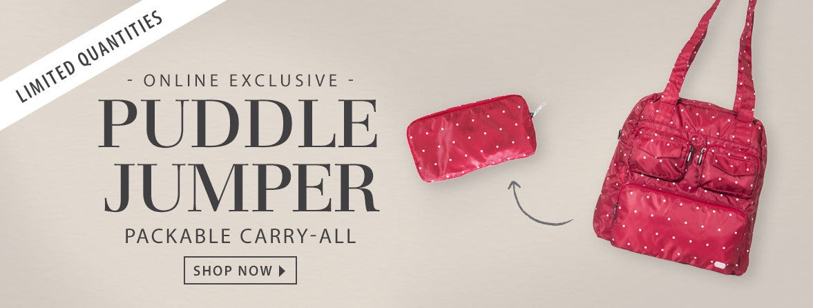 fdc2ceb9a The Puddle Jumper Packable Carry-All is finally here! - Luglife.com