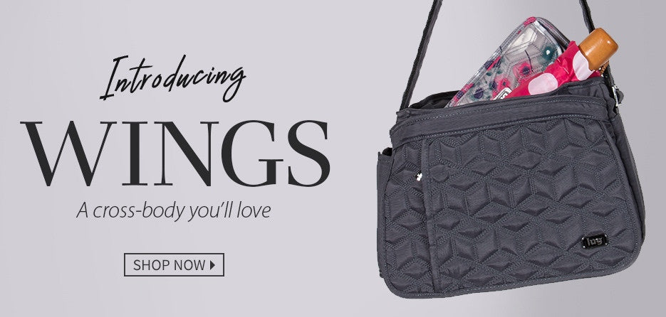 Introducing the Wings Cross Body Bag