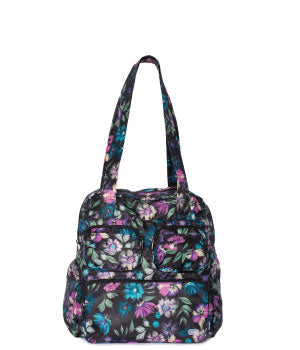 Puddle Jumper Packable in Bloom Black