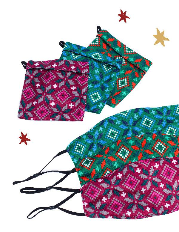 3 Pocket Face Coverings