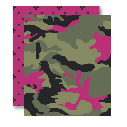 Camo Orchid Pattern