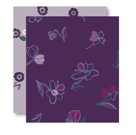 Floret Purple Pattern