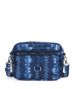 Carousel XL in Shibori Blue