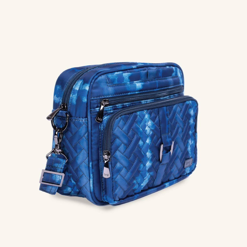Shibori Blue in Carousel XL