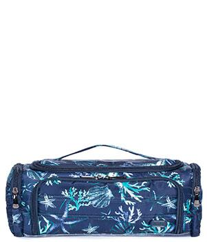 Trolley in Stars and Shells Navy