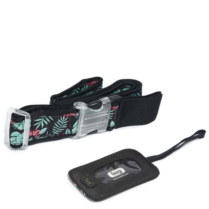 Baggage Claim Luggage Belt & Tag Set
