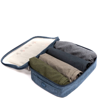 Peacock 3 Set Packing Cubes,2 Various Sizes Travel Luggage Packing Organizers h